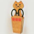 はさみポケット(ナチュラル) CAT