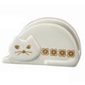 キッチンのネコ雑貨・猫グッズ まな板スタンド(グレイ)