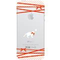 【ネコiPhone5ケース】リボン猫 送料無料!