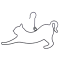ロールハンガー ネコ