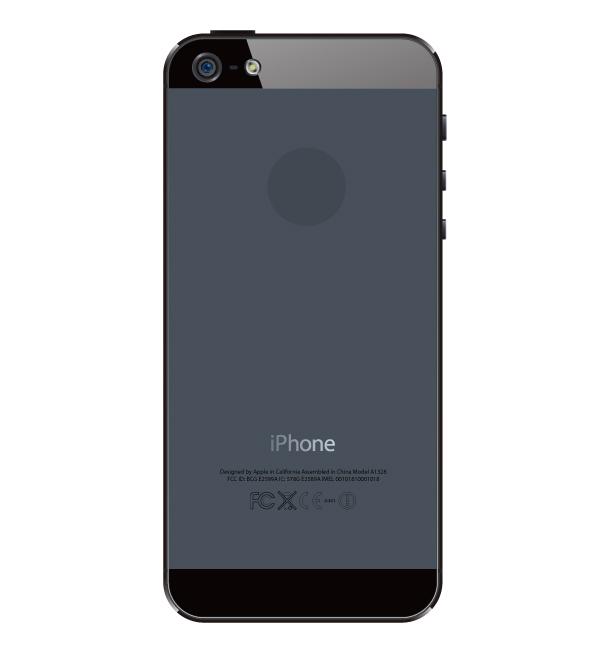 【ネコiPhoneケース】いっぱい(ブラック用)(透明タイプ)